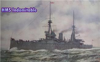 Combrig  70251 HMS Indomitable Battlecruiser 1908