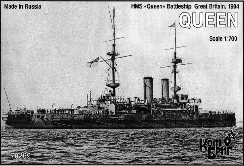 Combrig  70269 HMS Queen Battleship, 1904