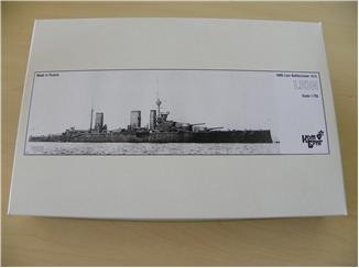 Combrig  70278 HMS Lion Battlecruiser, 1912