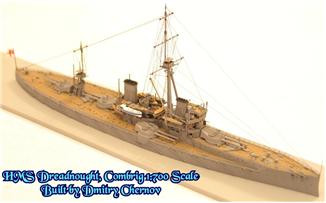 Combrig  70281 HMS Dreadnought Battleship 1906