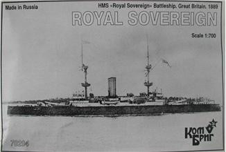 HMS Royal Sovereign Battleship, 1889