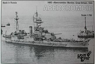 HMS Abercrombie Monitor