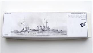 Combrig  70408 French Vergniaud Battleship, 1911
