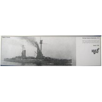 German Kaizerin Battleship, 1913