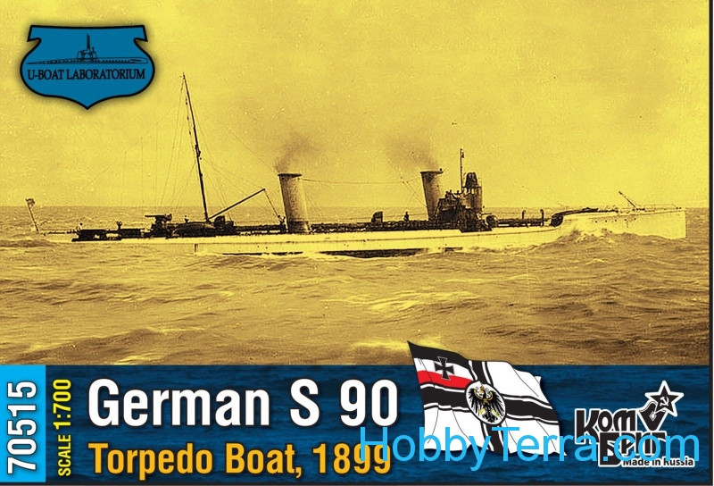Combrig  70515 German S 90 Torpedo Boat, 1899