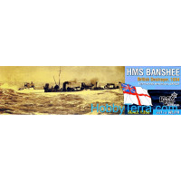 HMS Banshee Destroyer, 1894