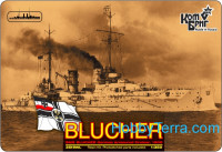 "German Blucher Armored Cruiser, 1909 (Full Hull version)<span style=""color: #ff0000""> FREE SHIPPING</span>"