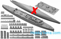 Combrig  3527WL Russian Prut Cruiser 1915 (Water Line version)