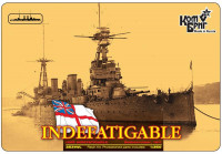 HMS Indefatigable Battlecruiser (Full Hull version) ➤➤➤ FREE SHIPPING