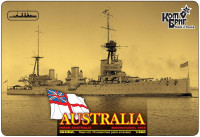 HMAS Australia Battlecruiser (Water Line version)