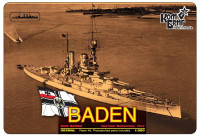German Baden Battleship, 1917 (Water Line version)
