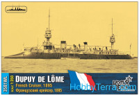 French Dupuy de Lome Cruiser, 1895 (Water Line version)