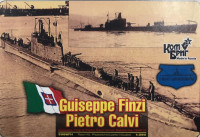 Italian Giuseppe Finzi/Pietro Calvi Submarine, 1936 (Full Hull version)