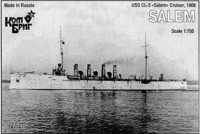 USS CL-3 Salem Cruiser, 1908