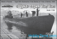 Type SCh Submarine V bis  Series or V bis-2 Series, 1935 (Full Hull version)