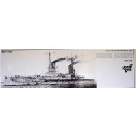 German Konig Albert Battleship, 1913