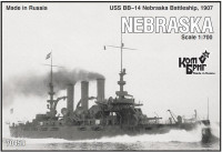 USS BB-14 Nebraska Battleship, 1907