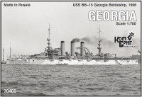 USS BB-15 Georgia Battleship, 1906