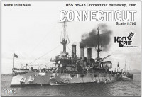 USS BB-18 Connecticut Battleship, 1906