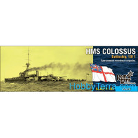HMS Colossus Battleship, 1911
