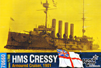 HMS Cressy Armoured Cruiser, 1901