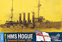 HMS Hogue Armoured Cruiser, 1902