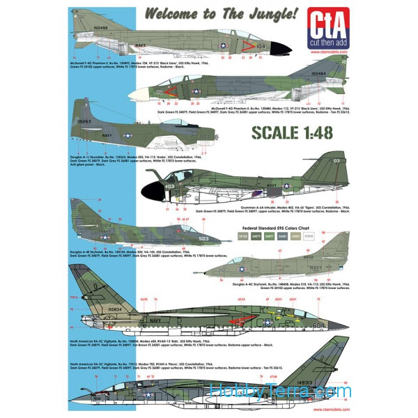 CTA 4801 Decal 1/48