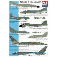 "Decal 1/48 ""Welcome to the Jungle"""