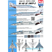 Decal 1/48 for RF-4B of VMFP-3