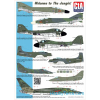 "Decal 1/72 ""Welcome to the Jungle"""