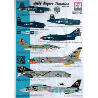 "Decal 1/72 ""Jolly Rogers Timeline"", part 2"