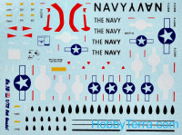 "CTA  7206 Decal 1/72 ""Hot Gnats!"""