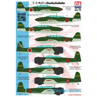 CTA  7207 Decal 1/72 for Jinchuhokoku