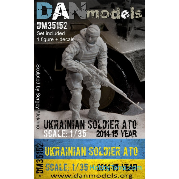 DAN models  35152 Ukrainian soldier, ATO(anti-terroristic operation), East Ukraine 2014-2015 (resin)
