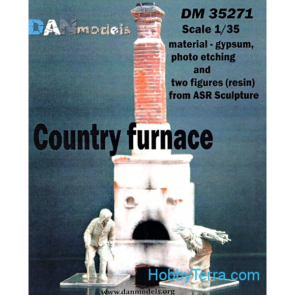 DAN models  35271 Country furnace and two figures (resin) from ASR sculpture