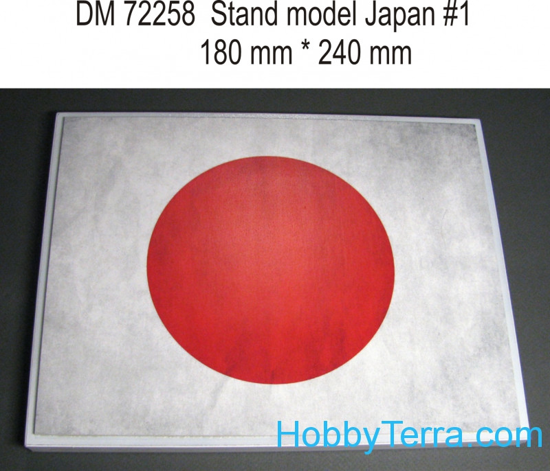 Display stand. Japan theme, #1, 240x180mm