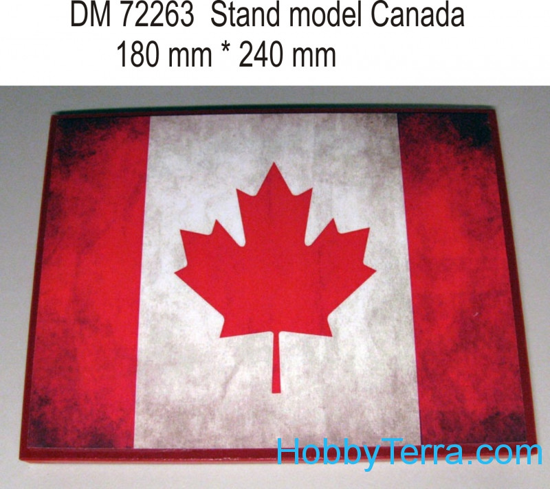 DAN models  72263 Display stand. Canada theme, 240x180mm