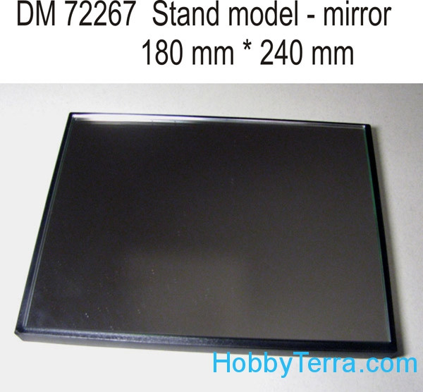 DAN models  72267 Display stand with mirror. 240x180mm