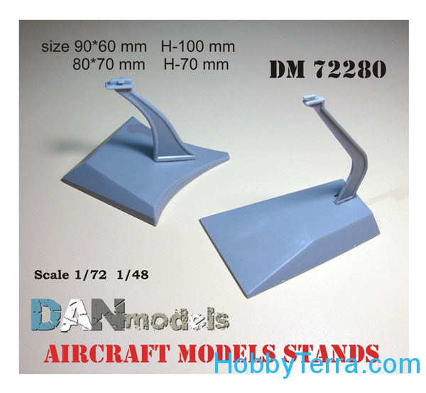 Aircraft models stands in 1/48,1/72 scales