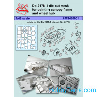 Painting masks 1/48 for Do 217N-1, for ICM 48271 kit