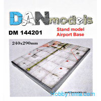 Display stand. Airport Base theme, 240x290mm