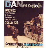 German tankers. Evacuation 1940-43, set 2