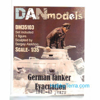 German tank crew. Evacuation 1940-43. 1 figure, set 3