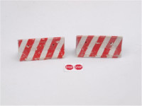 DAN models  35202 Concrete barriers with traces of fire, set 2