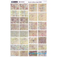 Topographic maps WWII (Soviet, German)