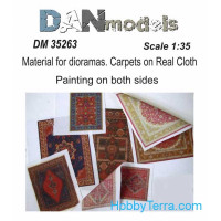 Material for dioramas. Carpets on Real Cloth. Painting on both sides #3