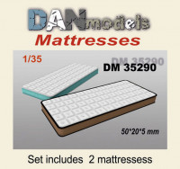 Accessories for diorama. Mattress 2 pcs