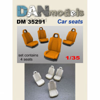 Accessories for diorama. Car seats 4 pcs