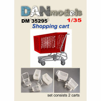 Accessories for diorama. Shopping cart 2 pcs