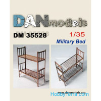 Military bed #2, 2 pcs